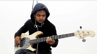 Bondan prakoso - feels like home (bass cover) by fajar pakcik
