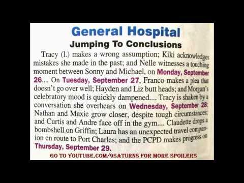 9-12-16 GH SNEAK PEEK Finn Hayden Franco General Hospital : Elizabeth Michael Easton Preview 9-9-16 from YouTube · Duration:  57 seconds