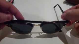 видео Брендовые очки Ray-ban: как отличить подделку от оригинала