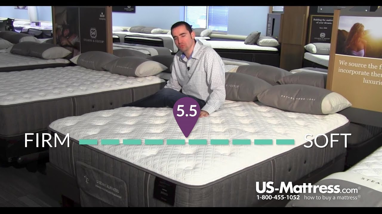 stearns and foster estate bella claire luxury plush mattress expert review - Stearns And Foster Reviews