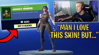 FaZe TFUE Explains Why He Will NEVER Buy a Skin in Fortnite! | Fortnite Highlights #94