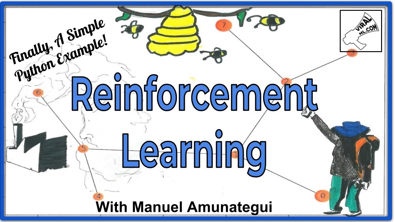 The ViralML Show! Reinforcement Learning - A Simple Python Example