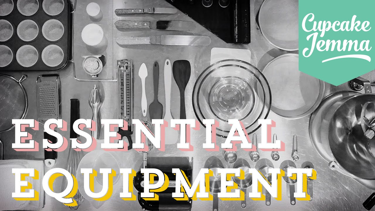 Essential Kitchen Equipment Guide for Home Baking | Cupcake Jemma ...