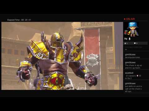 Blood Bowl 2 Ps4 Talk Show Nuffle Shuffle With Calcium Cas!!!