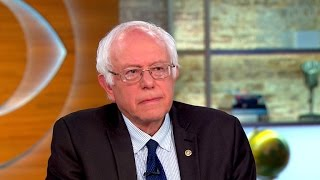 Sanders on Brexit, what it would take for him to endorse Clinton
