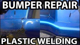 homepage tile video photo for Plastic Welding Bumper Repair