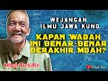 Bikin Kagum!! Kaweruh Ilmu Jawa Kuno Mbah Tarsidin