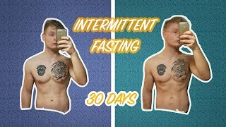 Intermittent fasting for 30 days ... this will happen!