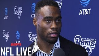 Brandin Cooks interview after trade to Los Angeles Rams | ESPN
