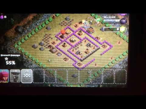 How to beat clash of clans jump around in goblins