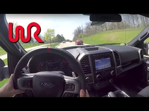 2017 Ford F-150 Raptor - Road POV Test Drive & Review