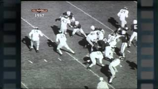 Big Ten Film Vault: 1957 Yearbook - Michigan Season Recap