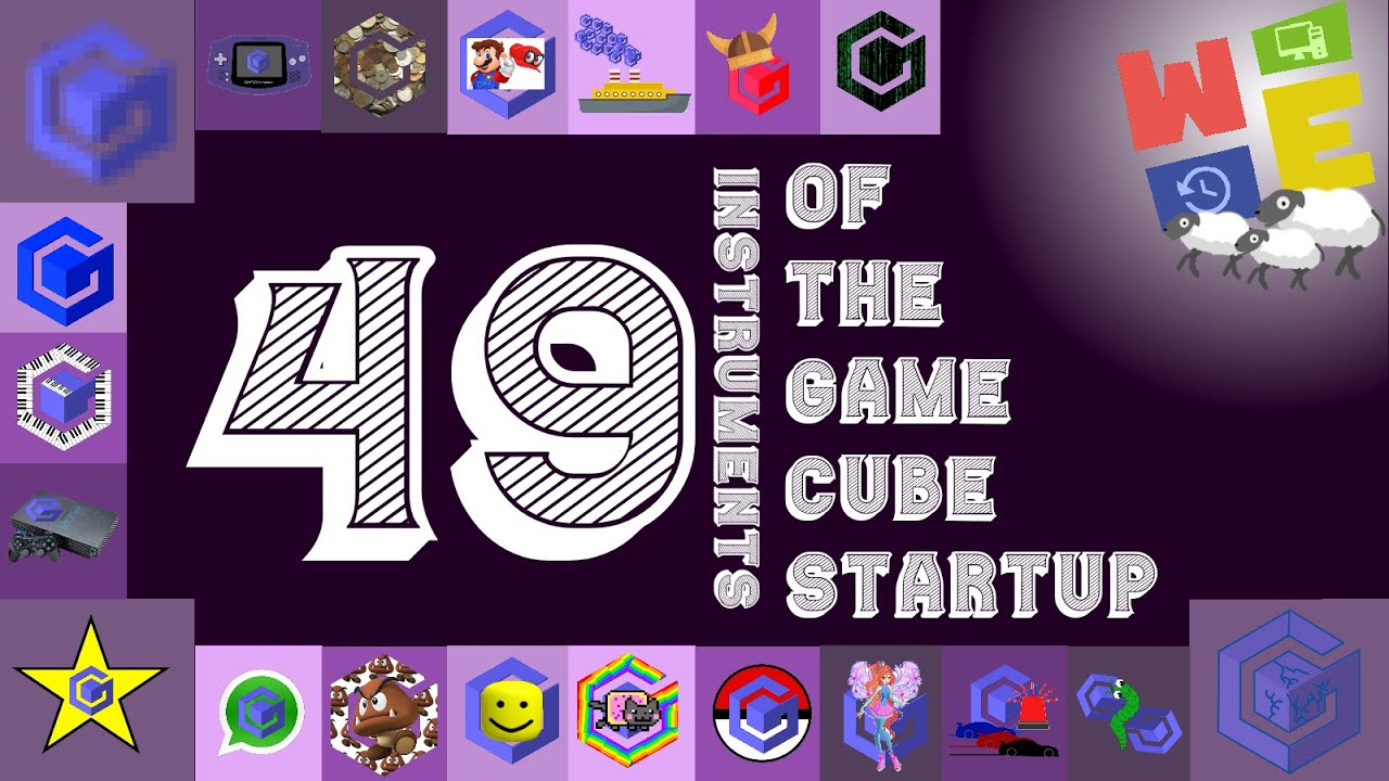 49 INSTRUMENTS OF THE GAMECUBE STARTUP