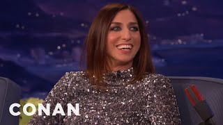 chelsea peretti encouraged donald trumps presidential run conan on tbs