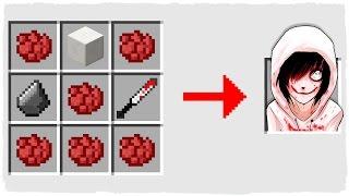 HOW TO SUMMON JEFF THE KILLER - MINECRAFT CREEPYPASTA
