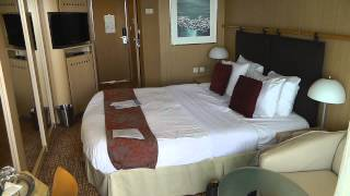 Celebrity Millennium Stateroom Tour -  Room 8142 - Feb 2015