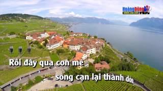 Karaoke 4K - Qua Cơn Mê - Nhạc Sống Full Beat Cực Hay