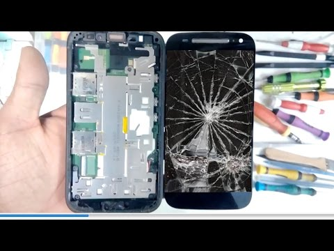 moto e2 Screen digitizer replacement || moto e 2nd gen display replacement