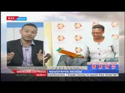 Lawyer-Nelson Havi, Lecturer-Tony Randall, Aspirants-Isaac Tanui & Reuben Ndolo: Newspaper Review p2