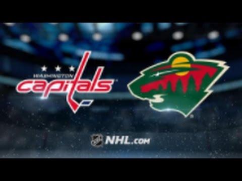 Washington Capitals vs Minnesota Wild NHL Game Recap