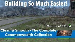 Fallout 4 Xbox One/PC/PS4 Mods|Clean & Smooth - The Complete Commonwealth Collection