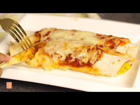 انشلادا ، صينية الدجاج المكسيكي | #رمضان | Chicken Enchiladas Casserole