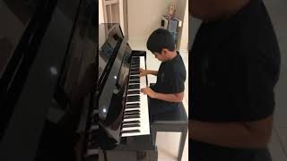 Krishiv playing 'Ae dil hai mushkil'.. little pianist .. magical fingers