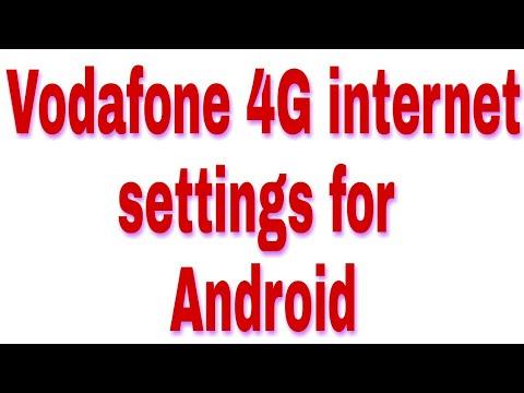 Vodafone 4G internet settings for xiaomi Redmi note 4 hindi