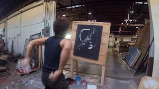 Bride of Frankenstein Speed Paint