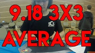 9.18 Official 3x3 Average | SCC Winter 2018 Mp3