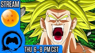 BROLY RELEASE LIVESTREAM | Dragon Ball: Raging Blast 2 - TFS Plays