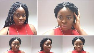 How to Braid Crochet Havana Dread wig   Faux Locs hair 100% Brazilian wool Ep#9