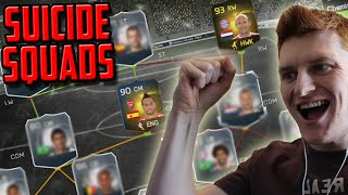 FIFA 15 - INSANE PACKS IN SUICIDE SQUADS!!!