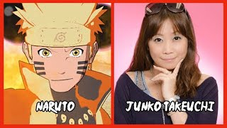 Repeat youtube video Characters and Voice Actors - Naruto Shippuden: Ultimate Ninja Storm 4