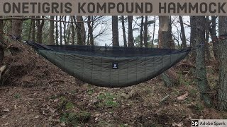 OneTigris Kompound Hammock With Bug-Net | Camping In The Woods | Wild Camping Scotland