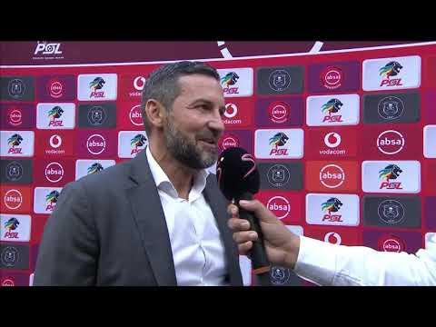 Absa Premiership   Orlando Pirates v Kaizer Chiefs    Post-match interview with Josef Zinnbauer
