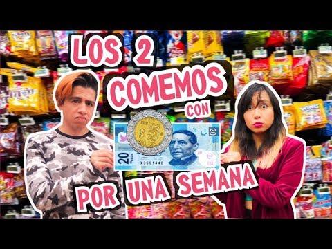 2 PERSONAS COMIENDO CON SOLO 25 PESOS  POR 1 SEMANA | Palomitas Flow
