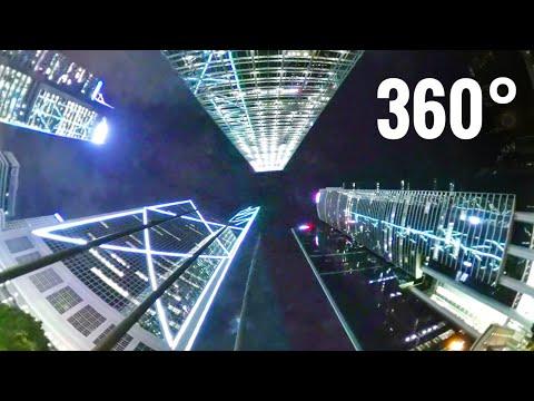 Best 360 VR video Hong Kong CBD Downtown Bank of China Samsung Gear VR Box