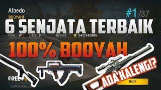 Awas Kaleng !! 6 Senjata Terbaik Pasti Booyah Free Fire Battlegrounds Indonesia
