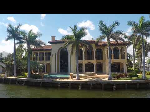 Fort Lauderdale Canal Mansions