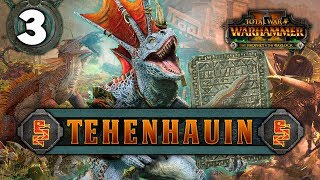 CLEARING OUT THE SKAVEN INFESTATION! Total War: Warhammer 2 - Lizardmen Campaign - Tehenhauin #3