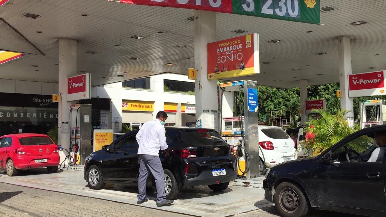 Corridas as Postos de Gasolina em Fortaleza.