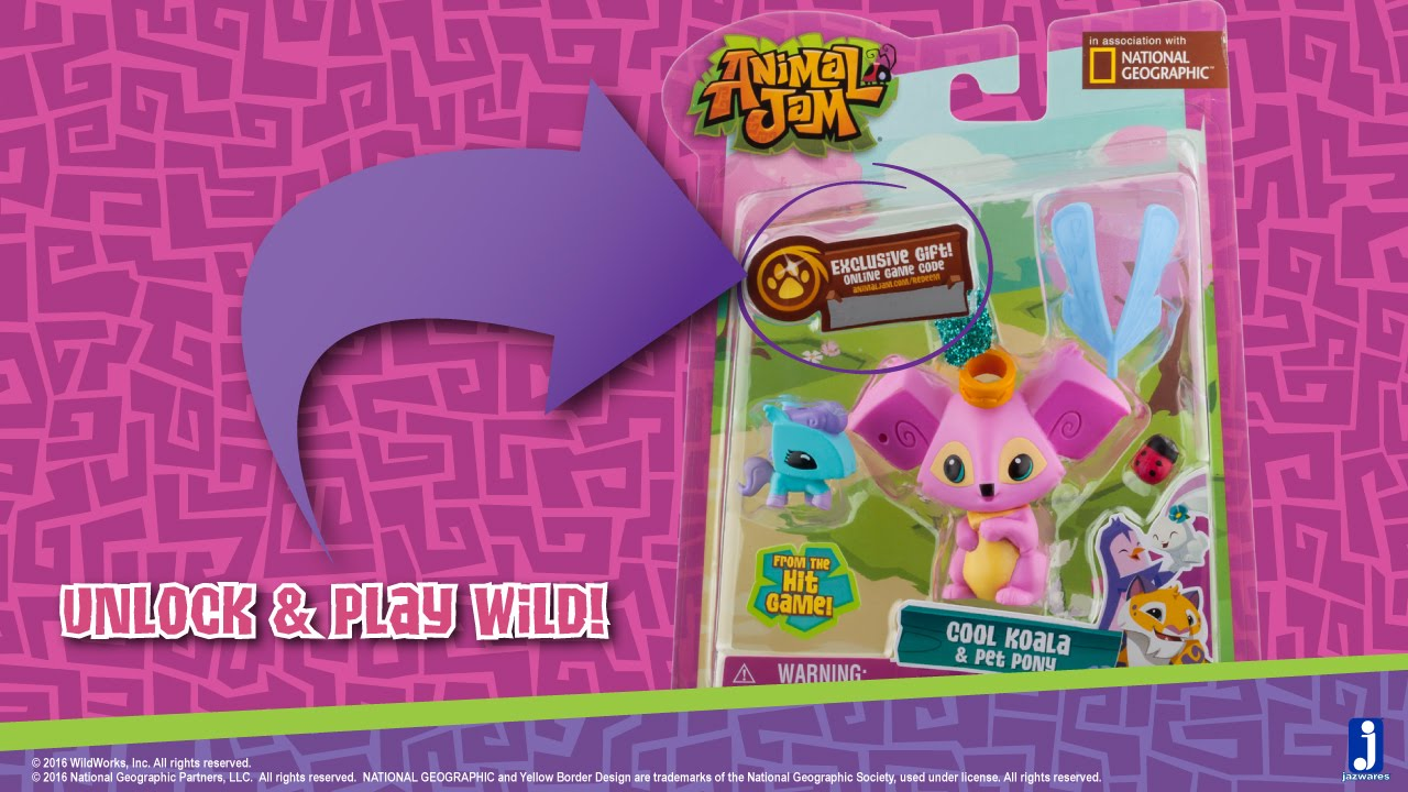 How To Redeem Your Animal Jam Toys Code Youtube