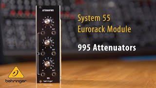 995 Attenuators Eurorack Module