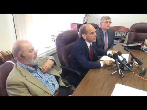 WATCH: Attorney Announces $1.2M Settlement with Portland Diocese