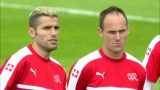 Switzerland training at Stade Pierre Mauroy - 18.06