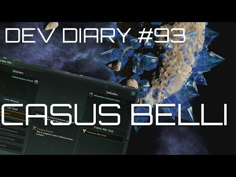 Stellaris - Dev Diary 93 - Psst, Hey Kids, Ya'll like Casus Belli? |