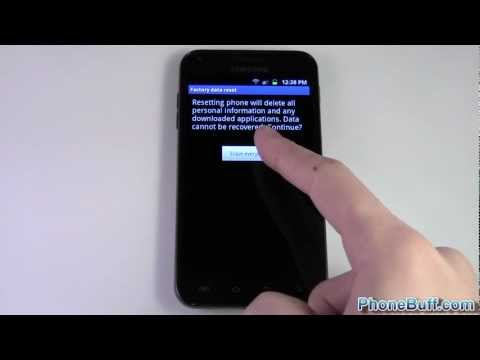 How To Factory Reset Your Android Phone - YouTube