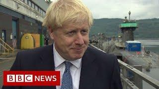 Boris Johnson: 'The withdrawal agreement is dead' - BBC News