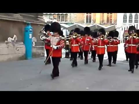 Honourable Artillery Company, State Visit of the President of Ireland 2014 (1)